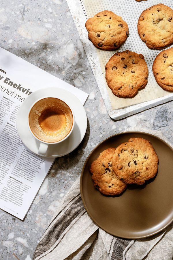 Solsken, kaffe och kakor